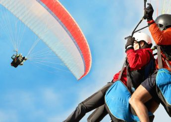 Tandem Paragliding, Batu Malang – Safari Night Edition