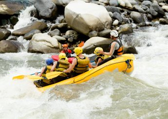 Rafting 7 km  Sungai Cisadane, Bogor