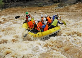 Rafting 11 km  Sungai Cisadane, Bogor