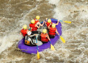 Rafting 11 km Sungai Cisadane, Bogor  Plus Villa