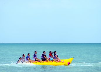 Ayer Island 2h1m Canoe, Banana Boat & Cycling Accommodation (Floating Cottage) From Marina Ancol