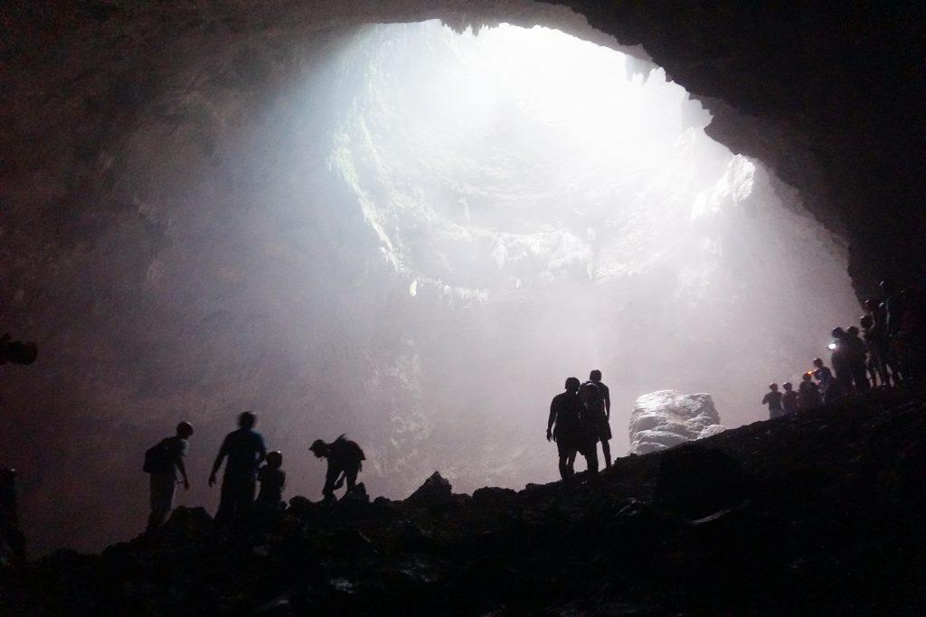 1D Caving di Goa Jomblang, Yogyakarta