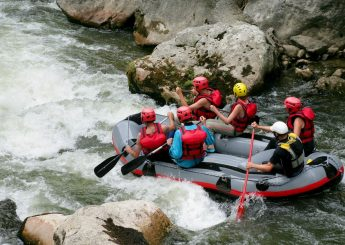 Pekalen River Rafting At Batu, Malang